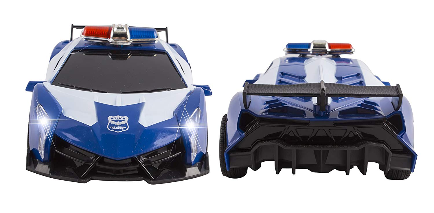 Police Rc Car Toy Super Exotic Large Remote Control Sports
